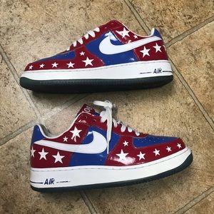 """Nike Air Force 1 Premium """"All-Star"""" 2006 LE sz 10"""